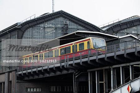 Metro Station in Friedrichstadt, Berlin, Germany