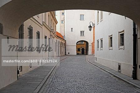 Passageways, Stare Miasto, Warsaw, Poland