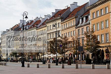 Street Scene, Stare Miasto, Warsaw, Poland