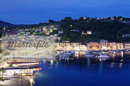 Porto Azzurro, Island of Elba, Livorno Province, Tuscany, Italy, Europe