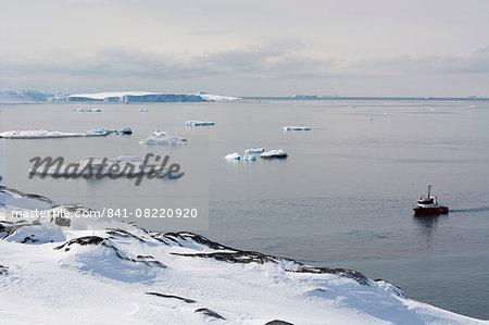 A bay near Ilulissat, Greenland, Denmark, Polar Regions
