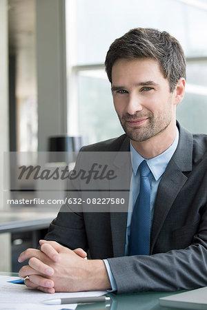 Business executive, portrait