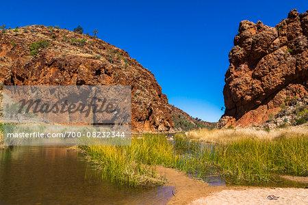 Glen Helen Gorge, West MacDonnell National Park, Northern Territory, Australia