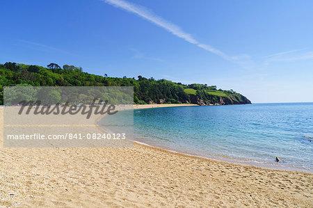 Blackpool Sands near Dartmouth, Devon, England, United Kingdom, Europe