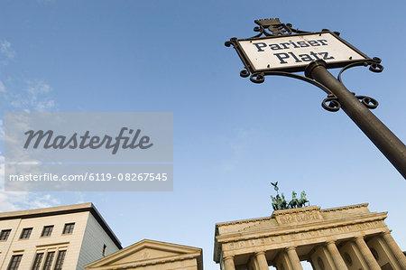 Pariser Platz,Brandenburg Gate,Berlin