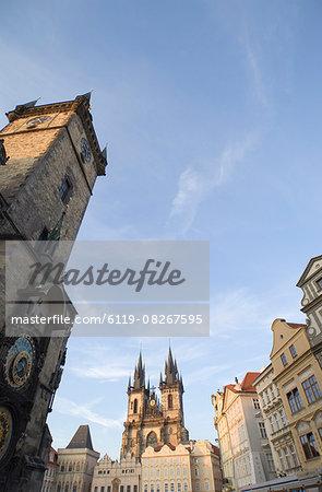 Old Town Sq, Prague, Czechoslovakian Republic