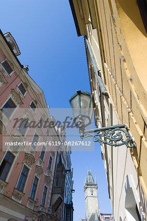 Narrow Streets, Prague, Czechoslovakian Republic
