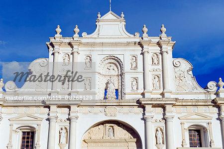 Cathedral, Antigua, UNESCO World Heritage Site, Guatemala, Central America