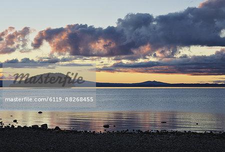 Lake Taupo, Waikato, North Island, New Zealand, Pacific