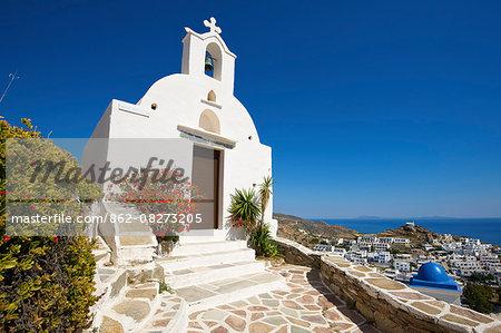 Chapel, Ios Island, Cyclades, Greece