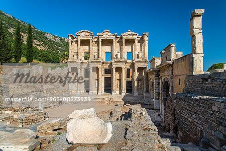 Library of Celsus, Ephesus, Izmir, Turkey