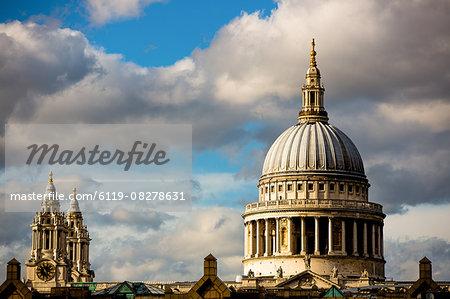 St. Pauls Cathedral, London, England, United Kingdom, Europe