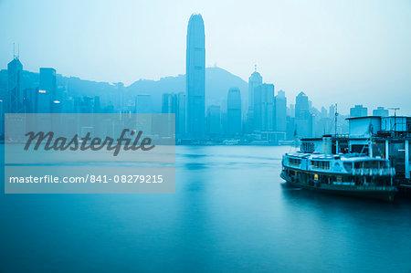Star Ferry Terminal, Kowloon, Hong Kong, China, Asia