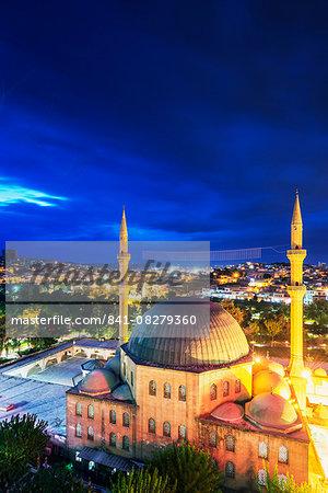 Mevlid-i Halil Mosque, Dergah, Sanliurfa-Urfa, Anatolia, Turkey, Asia Minor, Eurasia