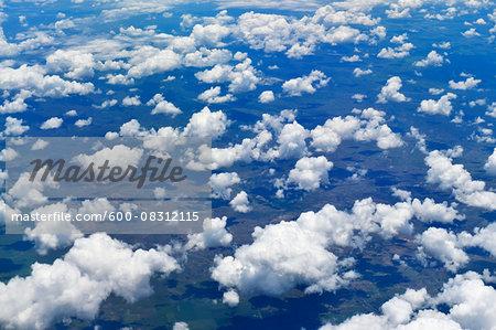 View from Flight over Queensland, Australia