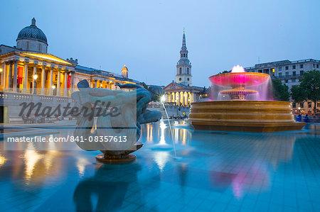 Trafalgar Square, London, England, United Kingdom, Europe