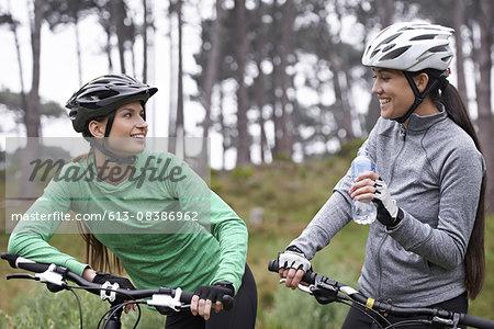 Bonding over their bikes