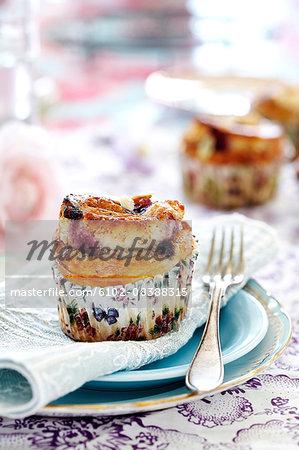 Bilberry muffin