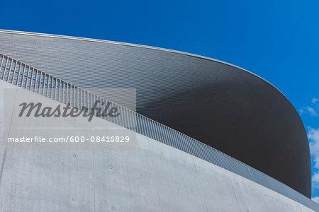 London Aquatics Centre for the 2012 London Olympics, Queen Elizabeth Olympic Park, Stratford, London, England, UK