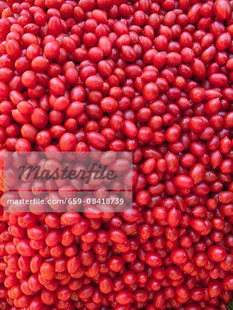 Grape tomatoes (full frame)