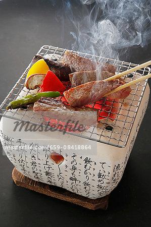 Yakiniku (grilled beef, Japan)