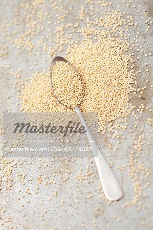 Scattered millet