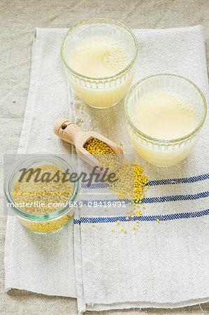Millet milk and millet