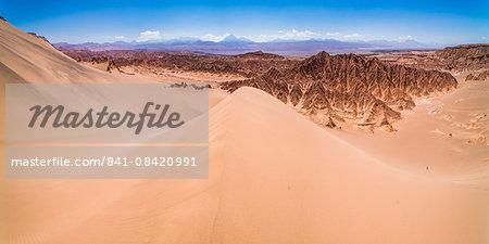 Sand dunes at Death Valley (Valle de la Muerte), San Pedro de Atacama, Atacama Desert, North Chile, Chile, South America