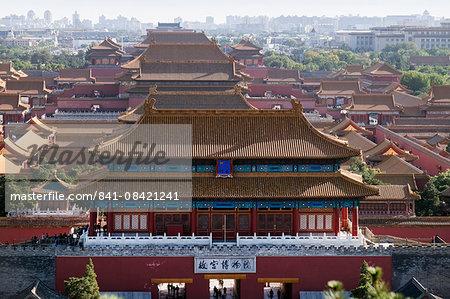 Forbidden City, China, Beijing, Asia