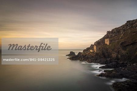 Crown Tin Mines, Botallack, UNESCO World Heritage Site, Cornwall, England, United Kingdom, Europe