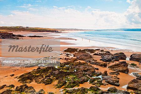 Beach, Gwithian, Cornwall, England, United Kingdom, Europe