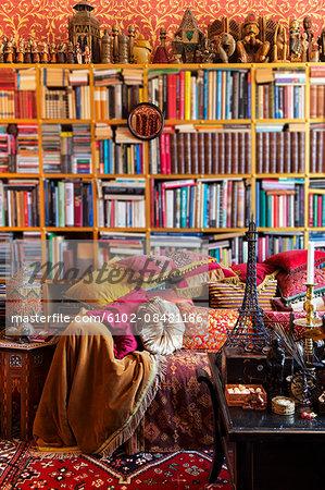 Oriental style interior