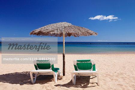 Playa de las Teresitas Beach, San Andres, Tenerife, Canary Islands, Spain, Atlantic, Europe