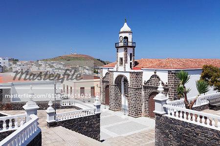 Iglesia Santa Maria de la Concepcion church, Valverde, UNESCO biosphere reserve, El Hierro, Canary Islands, Spain, Europe