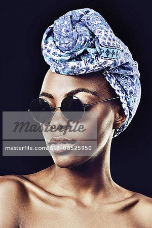 Stylish in a scarf