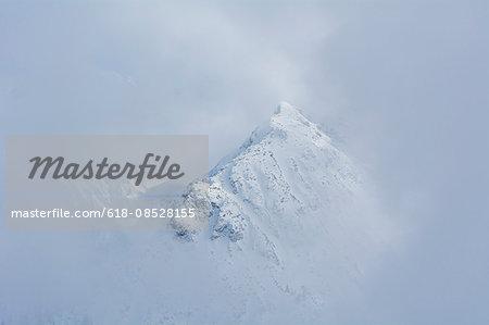 View from Fellhorn through Clouds