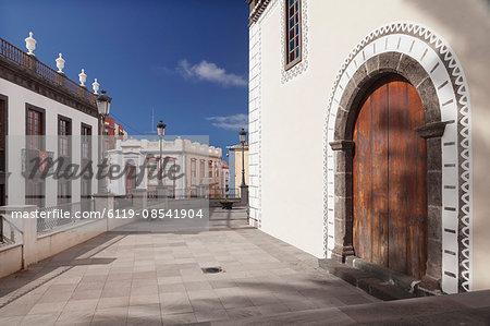 Iglesia de Bonanza church, El Paso, La Palma, Canary Islands, Spain, Europe