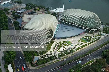 Esplanade, Theatres on the Bay, Singapore, Southeast Asia, Asia