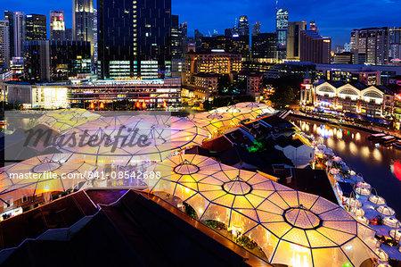 Clarke Quay, Singapore, Southeast Asia, Asia