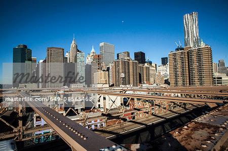 Manhattan cityscape, New York City, USA