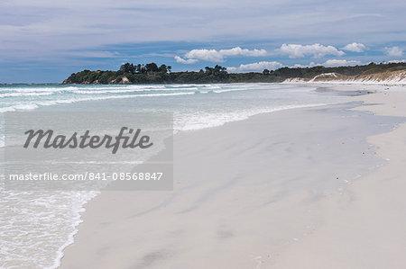Rarawa Beach, a popular and beautiful white sand beach in Northland Region, North Island, New Zealand, Pacific
