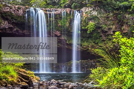 Rainbow Falls, a waterfall at Kerikeri in the Bay of Islands, Northland Region, North Island, New Zealand, Pacific
