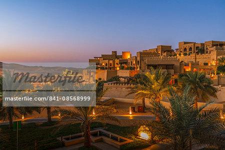 Qasr Al Sarab, a luxury resort by Anantara in the Empty Quarter Desert, Abu Dhabi, United Arab Emirates, Middle East