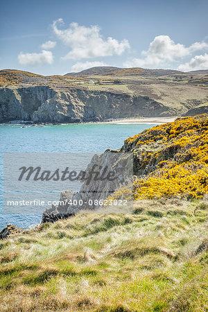 An image of a beautiful coast at Fanad Head Ireland