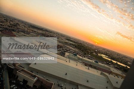 Rooftops, Doha, Qatar, Middle East
