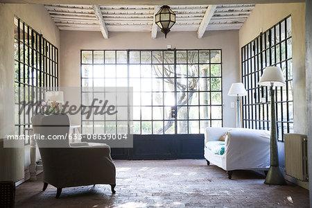 Home interior, sunroom