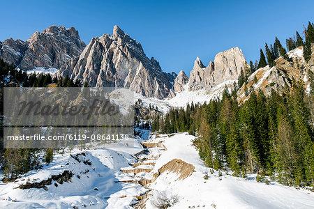 The Italian Dolomites, Italy, Europe