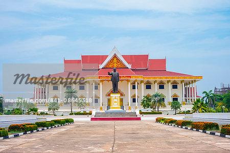 Kaysone Phomvihane Museum, Vientiane, Laos, Indochina, Southeast Asia, Asia