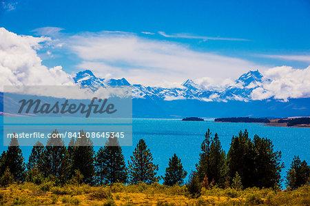 Glacier Lake, South Island, New Zealand, Pacific