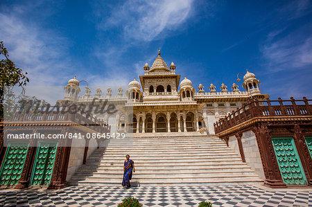 Main entrance to Jaswant Thada Tomb, Jodhpur, The Blue City, Rajasthan, India, Asia